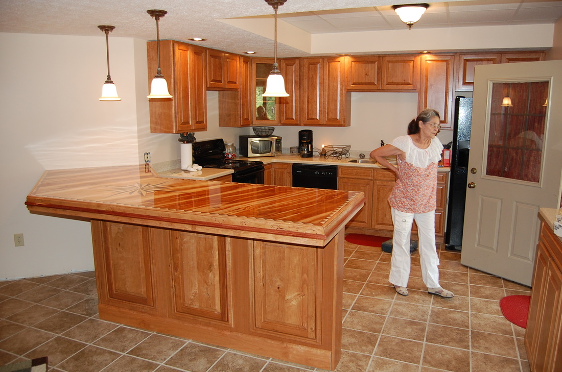 Joe Buchanan Kitchen Cabinets And Bar Bagdad Lumber Llc
